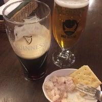 Photo taken at Irish Pub Stasiun 田町店 by Hiromi Y. on 11/17/2016