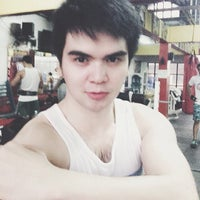 Photo taken at Muscle Mania Fitness Gym by Lord-Michael A. on 3/13/2014
