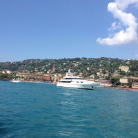 Photo taken at Lungomare di Santa Margherita Ligure by Leyla C. on 8/28/2014