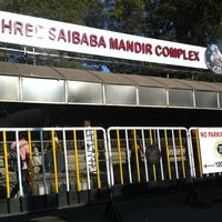 Photo taken at Shirdi Sai Baba Temple (Samadhi Mandir) by Aparajit B. on 1/12/2013