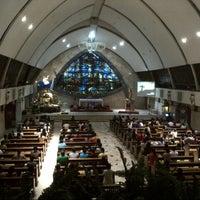 Photo taken at San Ildefonso Parish by Robert R. on 12/21/2012