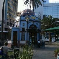 Photo taken at Parque San Telmo by Roberto S. on 3/12/2012