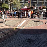 Photo taken at Powell Street Cable Car Turnaround by Ray on 9/9/2012