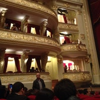 Photo taken at Teatro Municipal de Lima by Claudia A. on 7/13/2012