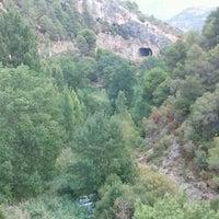 Photo taken at Pont-Nou Bar Terraza by Carlos L. on 9/7/2012