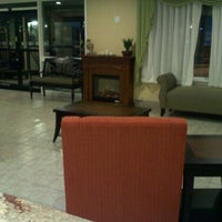 Photo taken at Holiday Inn Express Lancaster-Rockvale Outlets by Blair M. on 2/3/2012
