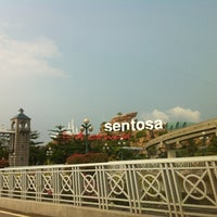 Photo taken at Sentosa Island by Toey T. on 9/13/2012