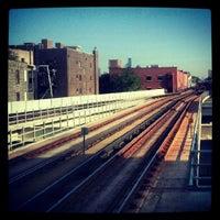 Photo taken at CTA - Belmont (Red/Brown/Purple) by Rafael F. on 5/23/2012
