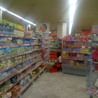 Photo taken at Mundial Supermercados by Julio R. on 9/1/2012