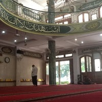 Photo taken at Masjid Shalahuddin Dirjen Pajak by Raja C. on 8/14/2012