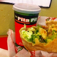 Photo taken at The Pita Pit by Dion S. on 3/20/2012