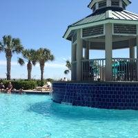 Photo taken at Marriott's Barony Beach Club by Marlee V. on 6/15/2012