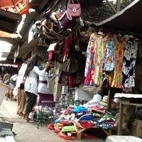 Photo taken at Pasar Seni Sukawati (Sukawati Art Market) by Helda A. on 4/23/2012