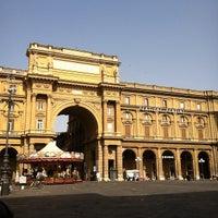 Photo taken at Piazza della Repubblica by Adam H. on 7/1/2012