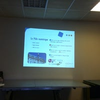 Photo taken at Arc Sud Developpement Villenave by Brigitte X. on 4/10/2012