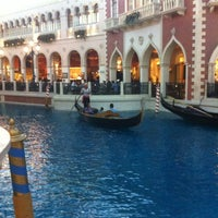 Photo taken at Venetian Canal by Irene H. on 6/20/2012