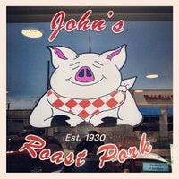 Photo taken at John's Roast Pork by David S. on 6/28/2012