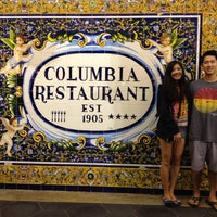Photo taken at The Columbia Restaurant by Sunjin N. on 8/19/2012