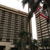 Photo taken at Anaheim Marriott by Alex C. on 2/27/2012