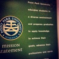 Photo taken at Point Park University by Ben B. on 4/14/2012