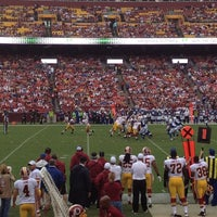 Photo taken at FedEx Field by Tyler M. on 8/25/2012