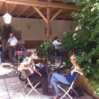 Photo taken at Gastgarten zur Eiche by Martin S. on 6/15/2012