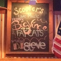 Photo taken at Scooters by Savanna M. on 7/21/2012