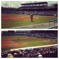 Photo taken at Harbor Park by Halsey B. on 5/22/2012