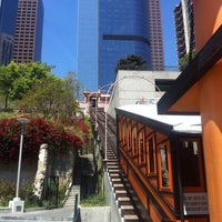 Photo taken at Angels Flight Railway by Andy W. on 4/28/2012