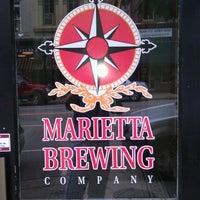 Photo taken at Marietta Brewing Company by Jason T. on 7/20/2012