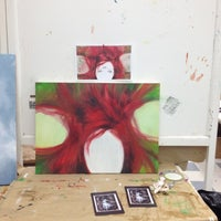 Photo taken at Art Barn by Gabriella D. on 4/5/2012