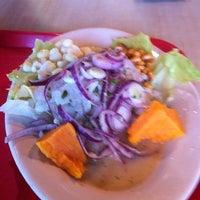 Photo taken at La Granja Restaurant by Galo P. on 2/24/2012