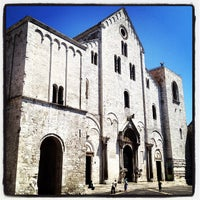 Photo taken at Basilica di San Nicola by Giulio B. on 7/26/2012