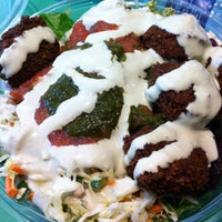 Photo taken at Maoz Vegetarian by Janice G. on 8/9/2012