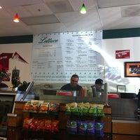 Photo taken at Lettuce Sandwich Shop by Lolly F. on 12/20/2012