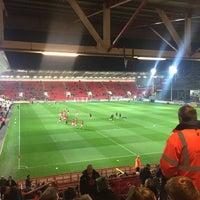 Photo taken at Ashton Gate Stadium by Steven F. on 10/16/2015