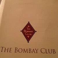 Photo taken at The Bombay Club by Roger H. on 12/28/2012
