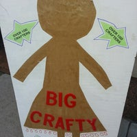 Photo taken at The Big Crafty by Ask Asheville h. on 12/2/2012