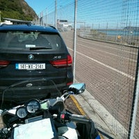 Photo taken at Fishguard Ferry Port by Thomas D. on 6/13/2014
