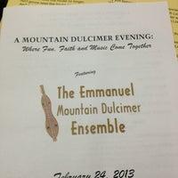 Photo taken at Emmanuel Baptist Church by Molly B. on 2/25/2013