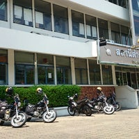 Photo taken at Phayathai Police Station by NANNETY☆ on 4/22/2014