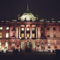 Photo taken at Somerset House by Denis N. on 1/25/2013