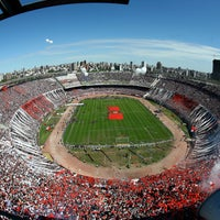 Photo taken at Estadio Monumental (River Plate) by Visit Argentina on 7/1/2013