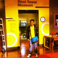 Photo taken at Shot Tower Museum by Boyet D. on 4/28/2013