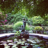 Photo taken at Central Park - Conservatory Garden by Steven B. on 8/19/2013