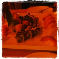 Photo taken at Mt. Fuji Steak & Sushi Bar by Johnny 5. on 3/23/2013