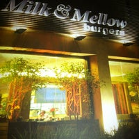 Photo taken at Milk & Mellow Burgers by Alexandre N. on 7/14/2013