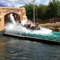 Photo taken at Journey to Atlantis by Steven S. on 4/21/2013