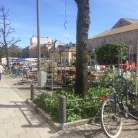 Photo taken at Stortorget by Kristian F. on 5/6/2016