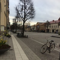 Photo taken at Stortorget by Kristian F. on 3/27/2016